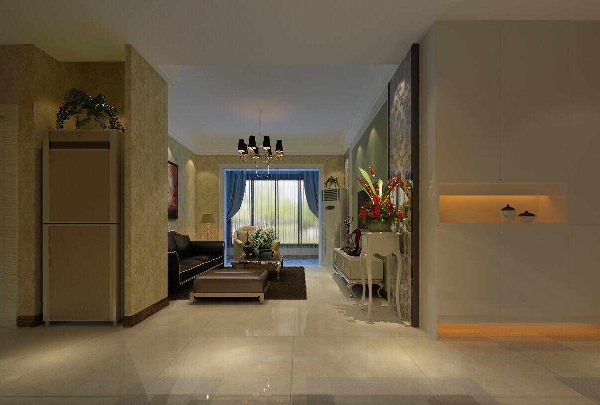 简约 三居 瀚海泰苑 客厅图片来自郑州实创装饰-杨淑平在瀚海泰苑-90平-简约风格的分享