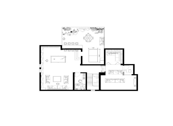 欧式 简约 别墅 家居 生活 风水 家庭装修 室内设计 报价 户型图图片来自曹丹在现代-使整个空间高贵不失典雅。的分享