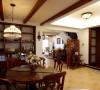 名雕丹迪设计-硅谷别墅-美式风格-餐厅