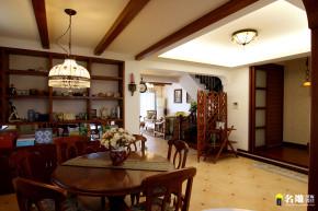 美式 别墅 自然 居家 名雕丹迪 高富帅 餐厅图片来自名雕丹迪在美式风情-220平硅谷别墅自由空间的分享