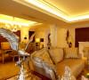 名雕装饰设计-中信红树湾三居-欧式家私家具