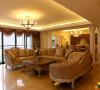 名雕装饰设计-中信红树湾三居-欧式客厅