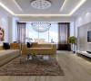 客厅装修的一些线条简单但设计独特,极富创意和个性的饰品都可以成为现代简约的重点,顶上个性独特的吊灯,同样给整个空间增加了一抹亮色