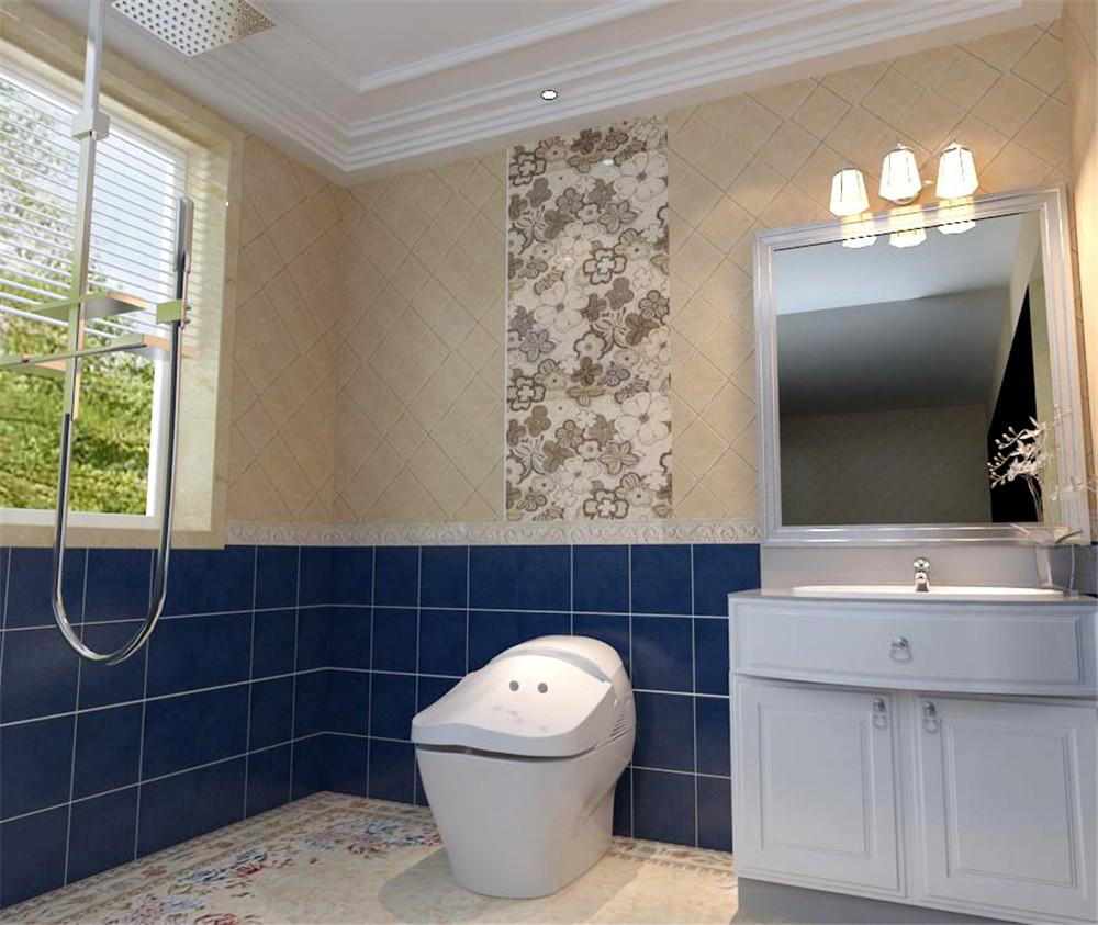 实创装饰 中海城 178平装修 经典欧式 卫生间图片来自实创装饰集团北京总部在21.2万三口之家奢华简约平层的分享