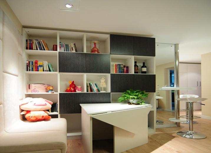 简约 一居室 其他图片来自实创装饰上海公司在一居室现代简约风格装修实景图的分享