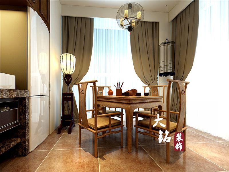 三居 白领 80后 中式 餐厅图片来自大铭装饰设计工程有限公司在升龙国际新中式风格装修的分享