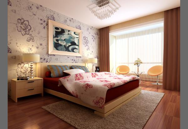 成都实创装饰—整体家装—卧室装修效果图
