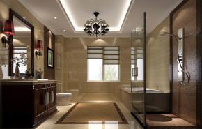 别墅 80后 小资 美观 港式 温馨 舒适 卫生间图片来自北京高度装饰设计王鹏程在西山壹号院港式风格的分享