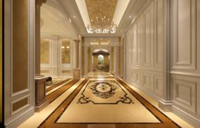 欧式 新古典 美观 气派 舒适 温馨 玄关图片来自北京高度装饰设计王鹏程在中海尚湖世家欧式新古典风格的分享
