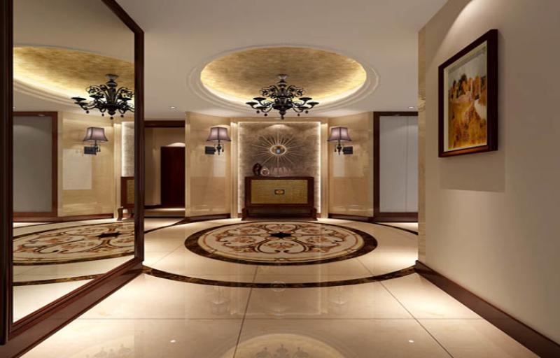 别墅 80后 小资 美观 港式 温馨 舒适 玄关图片来自北京高度装饰设计王鹏程在西山壹号院港式风格的分享