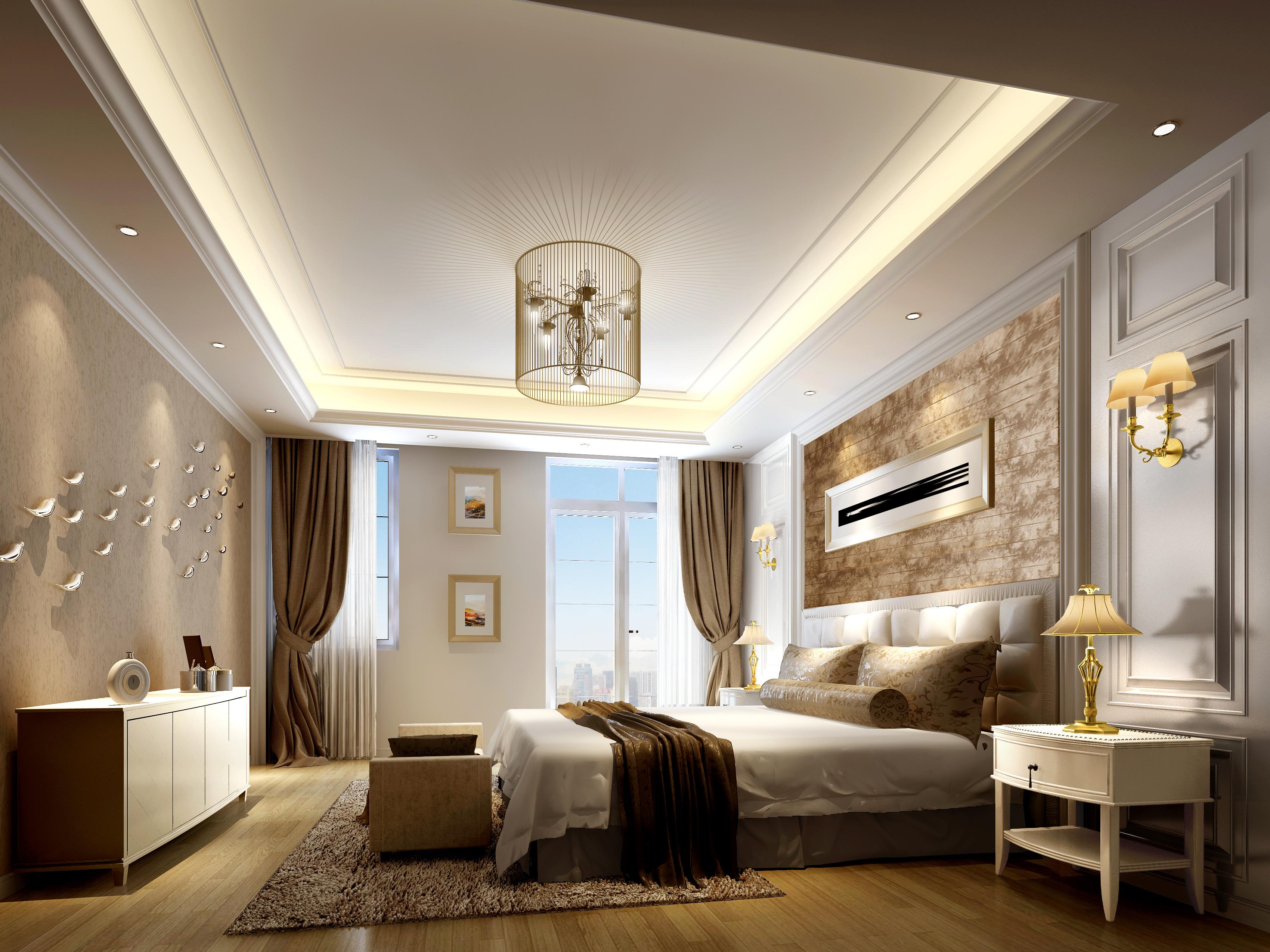 别墅 卧室图片来自用户2192407445在别墅装修的分享
