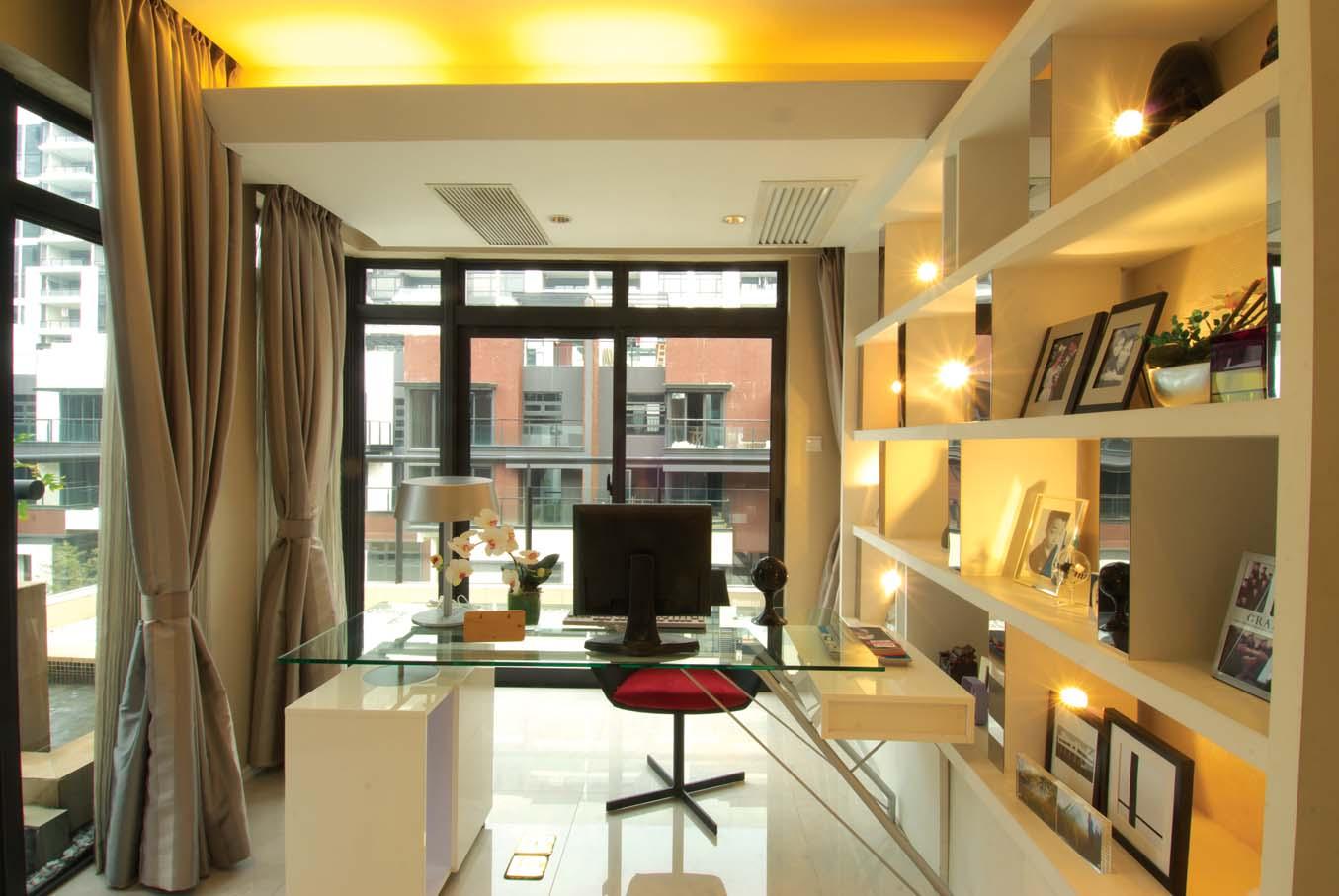 书房图片来自成都龙发装饰公司在置信牧山丽景 现代风格设计的分享