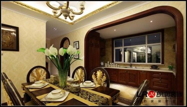 置信逸都-三居室-125平米-餐厅装修设计