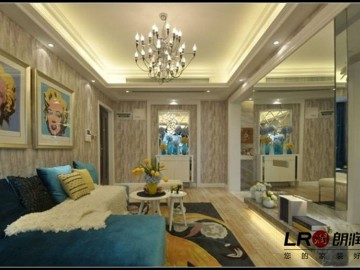 混合型风格-三居室装修设计