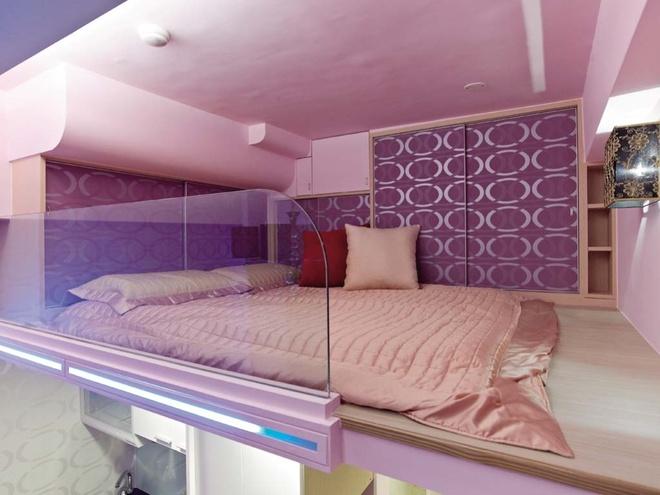 简约 现代 Loft 二居 三居 旧房改造 客厅 厨房 卧室 卧室图片来自合建装饰在北京城建.n次方的分享