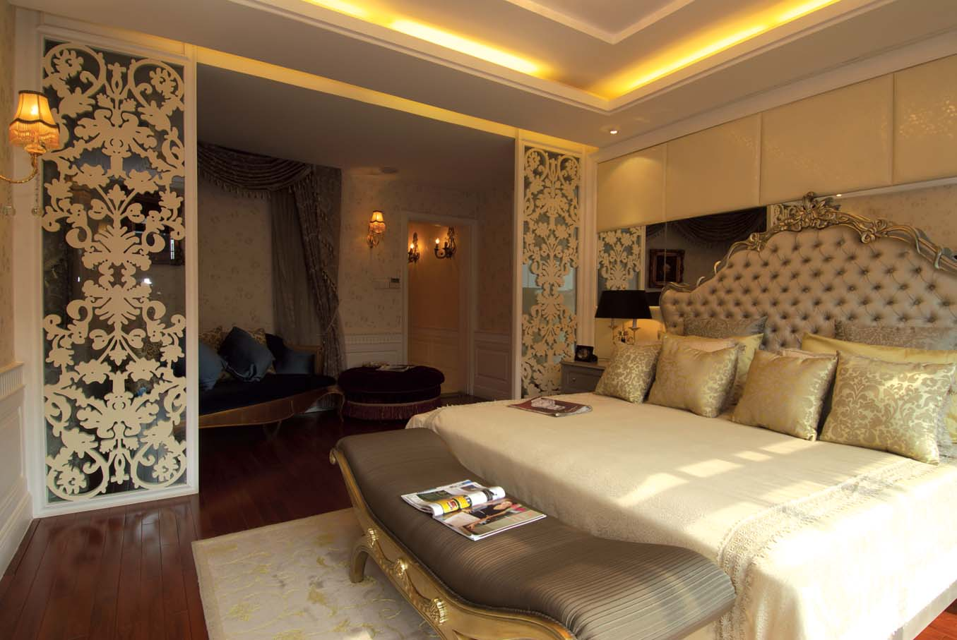 卧室图片来自成都龙发装饰公司在国奥村 现代风格的分享