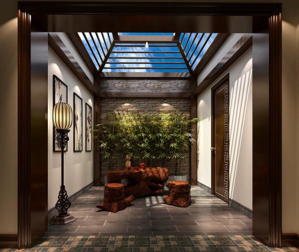 茶室 本案例以简约风格为主,大体采用了木质柜体,白色墙体,局部使用壁纸来丰富空间,公共区域以直线吊顶来划分空间,局部茶室以现代中式搭配,卧室以白色简约为主,凸显出简单大方、好打理、温馨.