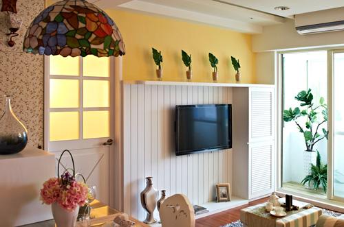 简约 乡村 混搭 宜家 二居 客厅图片来自瑞丽装饰在宜家乡村风的分享