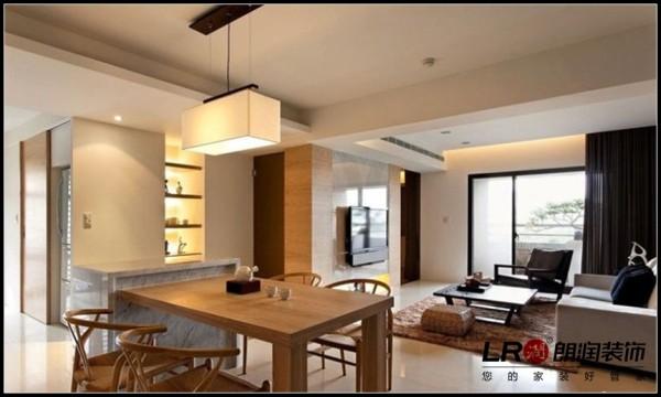天府世家-二居室-93平米-餐厅装修设计