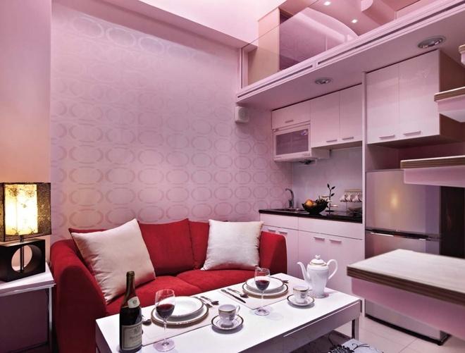 简约 现代 Loft 二居 三居 旧房改造 客厅 厨房 卧室 其他图片来自合建装饰在北京城建.n次方的分享