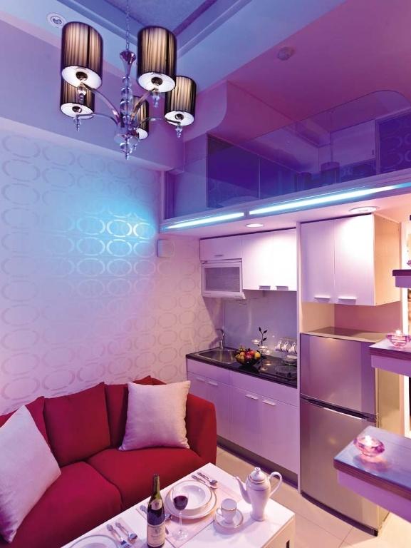 简约 现代 Loft 二居 三居 旧房改造 客厅 厨房 卧室 厨房图片来自合建装饰在北京城建.n次方的分享