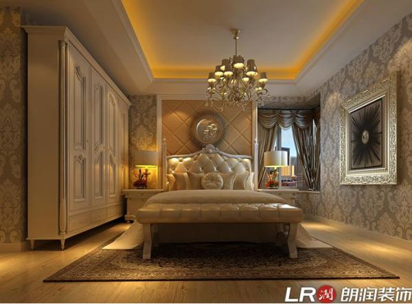 成都ICC-三居室-159平米-卧室装修设计