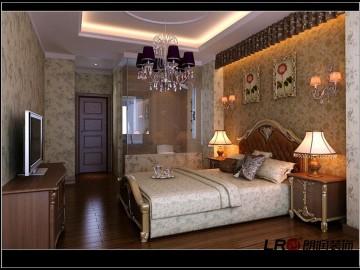 混搭风格-87平米二居室装修设计