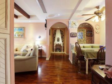 128平浪漫粉色婚房