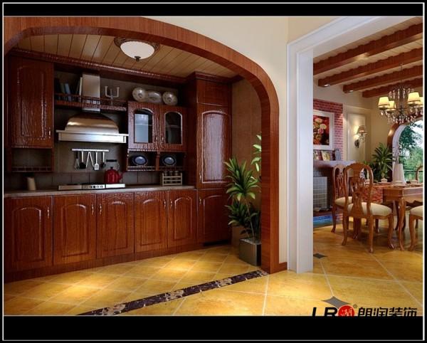 华置西锦城-二居室-87平米-厨房装修设计
