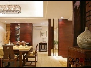 新中式-145平米四居室装修设计
