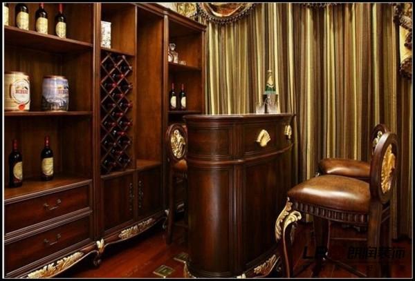 置信逸都-三居室-125平米-书房装修设计