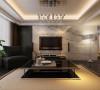 客厅电视背景墙的设计,采用的是大理石体现出空间的格调,在大气自然的前提下,提供了更多的发挥余地