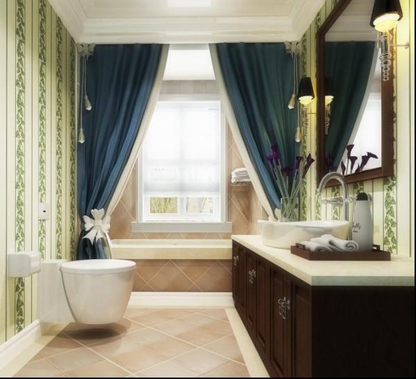 人们只注重视觉上的享受,其实触感的满足也非常重要。精确的结构处理与不同材质的选择运用,才能充分显露出现代人感性与知性的不同侧面。仿壁纸砖与浴室柜木质的搭配则呈现出家里温暖舒适的氛围。