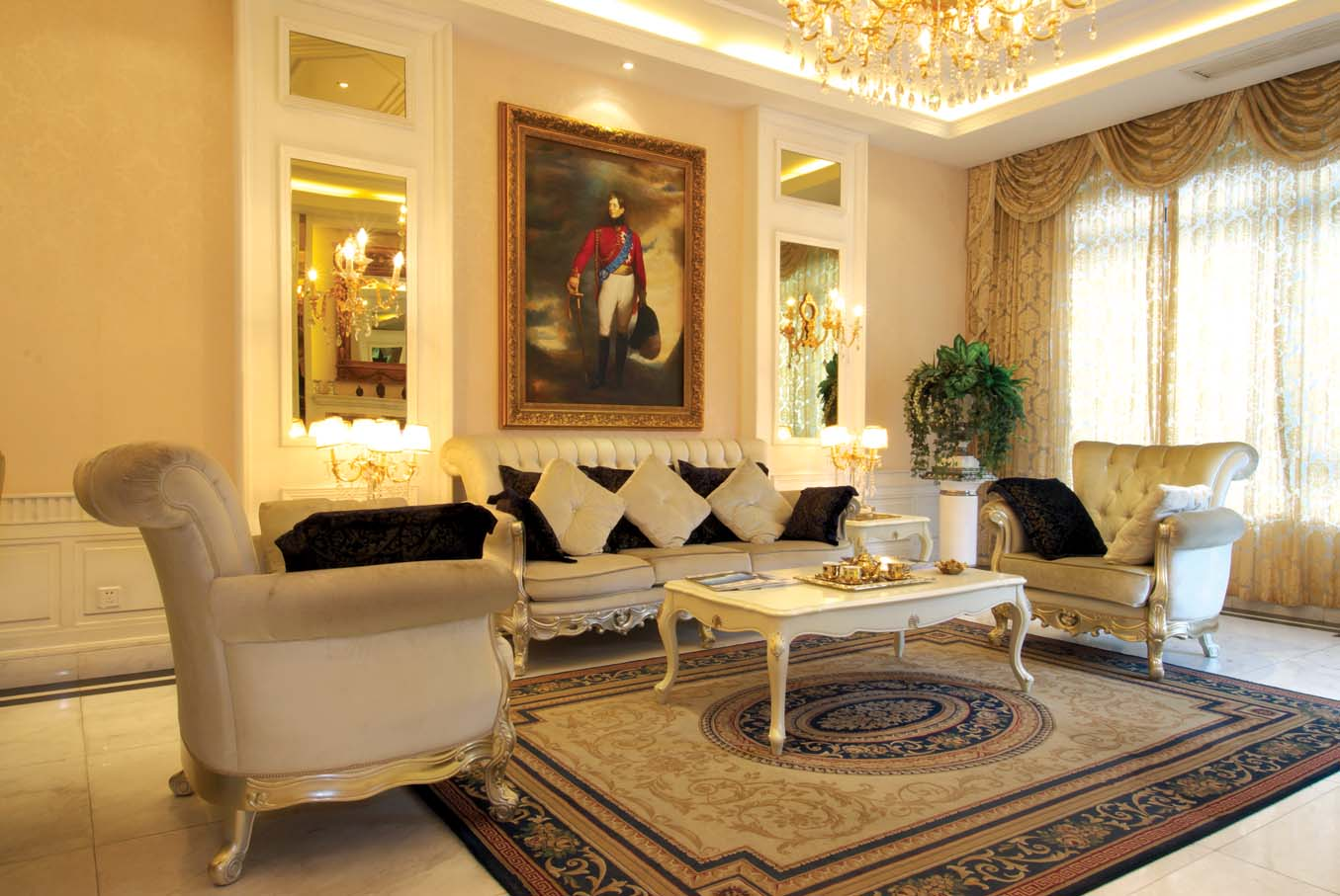 客厅图片来自成都龙发装饰公司在国奥村 现代风格的分享