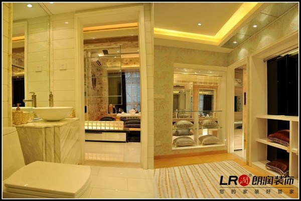 南湖国际社区-二居室-124平米-其它装修设计