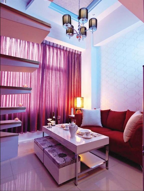 简约 现代 Loft 二居 三居 旧房改造 客厅 厨房 卧室 客厅图片来自合建装饰在北京城建.n次方的分享