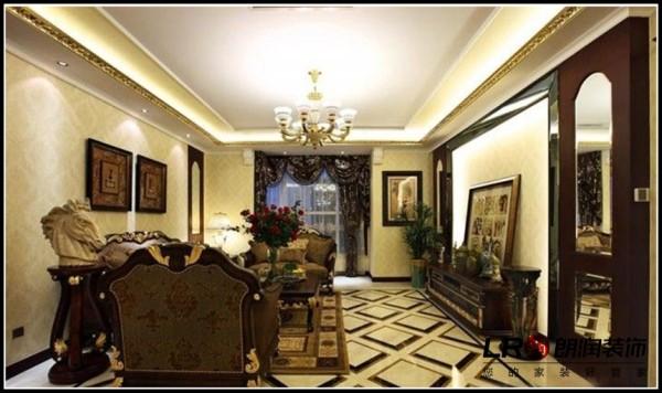 置信逸都-三居室-125平米-客厅装修设计