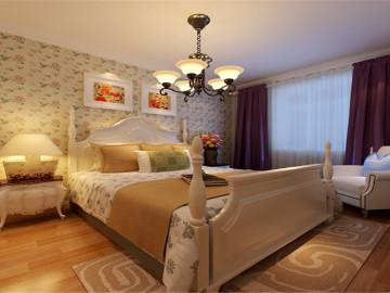 156平米四居室韩式田园风格