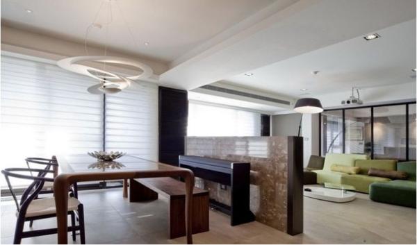仁和春天国际花园-三居室-177.98平米-餐厅装修设计