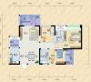 现代简约-115.26平米三居室
