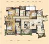 中式古典-222平米五居室装修设计
