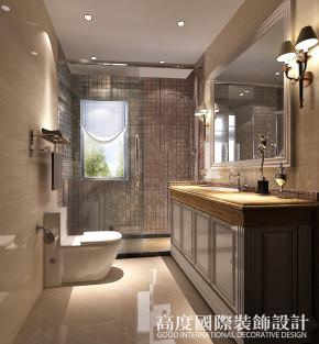 港式 三居 小资 卫生间图片来自天津高度国际装饰设计在新汇华庭~港式风格的分享