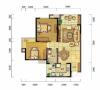 现代简约-86.74平米二居室装修