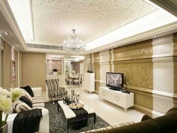 龙光天悦龙庭115平米现代风格