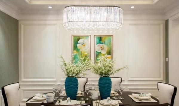 锦城世家-四居室-147.84平米-餐厅装修设计