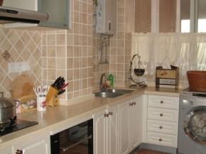 三居 温馨 舒适 白领 田园 80后 小资 厨房图片来自用户5156624388在115平小资舒适三居法式田园风的分享