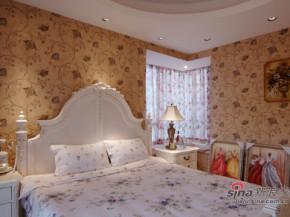 简约 欧式 田园 80后 白富美 温馨 舒适 卧室图片来自用户5156624388在120平温馨可爱欧式田园三居的分享