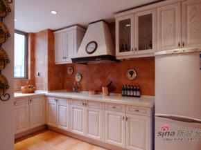 简约 欧式 田园 80后 白富美 温馨 舒适 厨房图片来自用户5156624388在120平温馨可爱欧式田园三居的分享