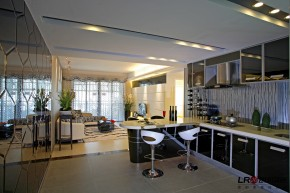现代 105平 白领 三居 旧房改造 80后 小资 温馨 小清新 厨房图片来自朗润装饰工程有限公司在80后浪漫温馨舒适小资情调三居的分享