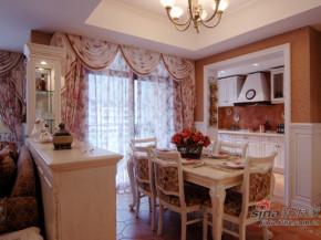 简约 欧式 田园 80后 白富美 温馨 舒适 餐厅图片来自用户5156624388在120平温馨可爱欧式田园三居的分享